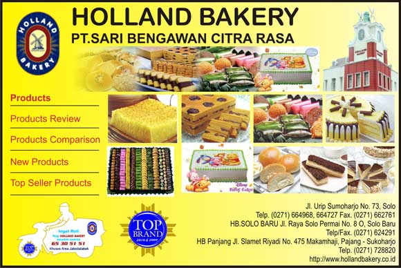 Holland bakery ibn yellowpages on internet